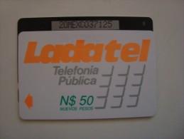 M�XICO - GPT - LADATEL N$ 50 NUEVOS PESOS - 20MEXC + B