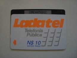 M�XICO - GPT - LADATEL N$10 NUEVOS PESOS - 20MEXA + B