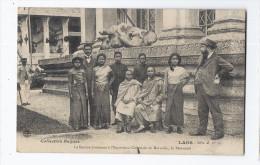 CPA LAOS - La Section Laotienne à L'Exposition Coloniale De Marseille , Le Personnel - SUPERBE ANIMATION - Laos