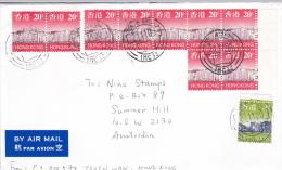 Hong Kong 2000 Cover Sent To Australia - 1997-... Chinese Admnistrative Region