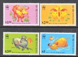 HONG KONG   780-3    **  YEAR  OF THE  OX - Hong Kong (...-1997)