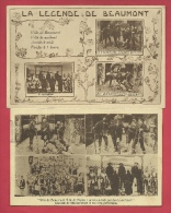 Beaumont - La Légende De Charles-Quint - 2 Cartes Postales ( Voir Verso ) - Beaumont