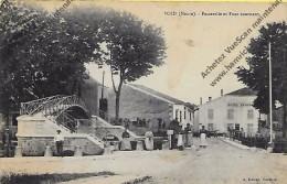 CPA  (55)  VOID Passerelle Et Pont Tournant En 1915 ( Dos Belle Oblitération ) - France