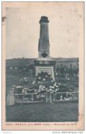 Cpa Nailly Près Sens - Monument Aux Morts - - Autres Communes