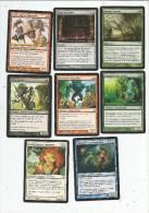 G-I-E , Carte De Collection , MAGIC The Gathering , Deckmaster , LOT DE 8 CARTES - Magic L'Assemblée