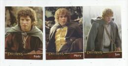 G-I-E , Carte De Collection , LORD OF THE RINGS , HOBBIT , N° 1/13/14 , LOT DE 3 CARTES , Frais Fr : 1.50€ - Legend Of The Five Rings