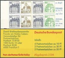 DEUTSCHLAND 1980 MI-NR. MARKENHEFT 22 A ** MNH (139) - [7] Repubblica Federale