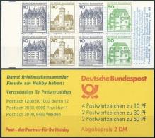 DEUTSCHLAND 1981 MI-NR. MARKENHEFT 22 V ** MNH (139) - BRD