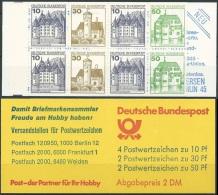 DEUTSCHLAND 1982 MI-NR. MARKENHEFT 22 Z ** MNH (139) - Carnets