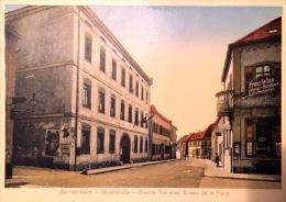 #  Germersheim  - Hauptstrasse - Grande Rue Avec Bureau De La Place - Germersheim