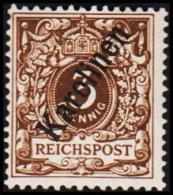 1899. Karolinen 3 Pf. REICHSPOST. (56*). (Michel: 1 II) - JF190969 - Colonie: Carolines