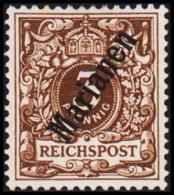 1900. Marianen 3 Pf. REICHSPOST (56*.) (Michel: 1 II) - JF191015 - Colonie: Mariannes