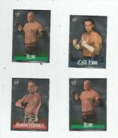 G-I-E , Carte De Collection , W KIVALS  , Topps Stickers , N° 24/24/54/105 , Catch , LOT DE 4 CARTES, Frais Fr : 1.50€ - Other Playing Cards