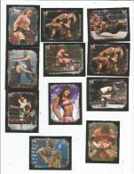 G-I-E , Carte De Collection , W KIVALS  , Topps Stickers , N° 210/223/157/p9/100/91/73/166...., Catch , LOT DE 15 CARTES - Autres Jeux De Cartes