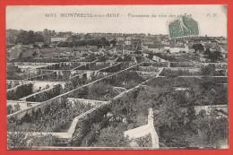 CPA Montreuil Sous Bois - Panorama Du Clos Des Pêches - Montreuil