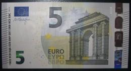 5 EURO V001F2 Spain Draghi Serie VA Perfect UNC - EURO