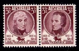 Australia 1953 Tasmania Pair MNH - See Notes - 1952-65 Elizabeth II : Pre-Decimals