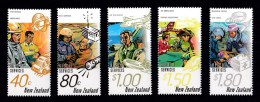 New Zealand 1996 Rescue Services Set Of 5 MNH - New Zealand