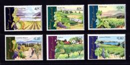 New Zealand 1997 Vineyards Set Of 6 MNH - New Zealand