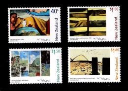 New Zealand 1999 Doris Lusk Paintings Set Of 4 MNH - New Zealand
