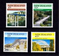 New Zealand 1985 Bridges Set Of 4 MNH - Nieuw-Zeeland