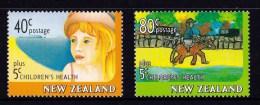 New Zealand 1997 Children's Healh Set Of 2 MNH - New Zealand