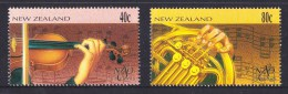 New Zealand 1996 NZ Symphony Orhestra - Music Set Of 2 MNH - New Zealand
