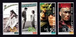 New Zealand 1996 Centenary Of NZ Cinema Set Of 4 MNH - New Zealand