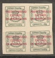 SPANISH MOROCCO  MARRUECOS 1915 Ed. 43 MH - Spanish Morocco