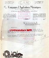 75 - PARIS - COMPAGNIE APPLICATIONS MECANIQUES- CAM- 15 AVENUE GRANDE ARMEE-1927 - France