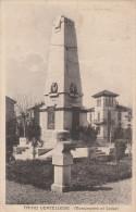 CARTOLINA: TRINO VERCELLESE - MONUMENTO AI CADUTI (VC) - VIAGGIATA - F/P - B/N - Italia