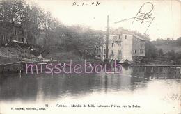 47 - VIANNE - Moulins De MM. Latouche Frères  Sur La Baïse -  1904 -  2 Scans - France
