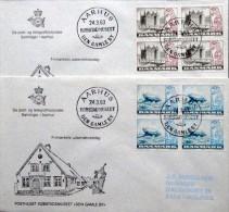 Denmark 1983 NORDEN Cz.Slania    MiNr.772-73  Barrow / Brouette / Karren FDC  ( Lot  5183 ) - FDC