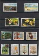 NOUVELLE CALÉDONIE  Flore Années 1991/99 Lot** - Lots & Serien