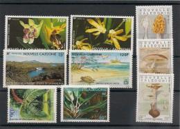 NOUVELLE CALÉDONIE  Flore Années 1991/98 Lot** - Neukaledonien