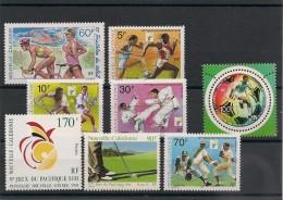 NOUVELLE CALÉDONIE  Sport Années 1991/99 Lot** - Lots & Serien