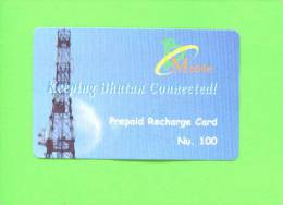 BHUTAN - Remote Frame Phonecard As Scan