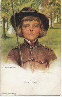 """ Be Prepared "" Scout Girl Scoutisme Philip Boileau - Scouting"