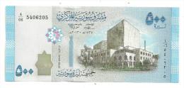 Syria 500 Pounds 2013 UNC - Siria