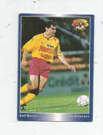 Carte De Collection , Official FOOTBALL Cards 1995 , PANINI , Chateauroux N° 98 - Autres Jeux De Cartes