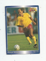 Carte De Collection , Official FOOTBALL Cards 1995 , PANINI , Ajaccio  N° 105 - Autres Jeux De Cartes
