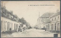CPA 62 - Sailly-sur-la-Lys, L'entrée Du Bourg Par La Gare - France