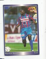 Carte De Collection , Official FOOTBALL Cards 1995 , PANINI , Caen  N° 42 - Autres Jeux De Cartes