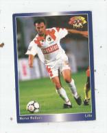 Carte De Collection , Official FOOTBALL Cards 1995 , PANINI , Lille  N° 76 - Autres Jeux De Cartes
