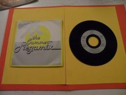 Boney M., The Summer, Mégamix - 1989 - Voir  Photos, Disque Vinyle - 2 € Le Vinyle 45 T - Disco, Pop