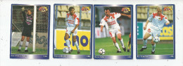 Carte De Collection , Official FOOTBALL Cards 1995 , PANINI , Lille  N° 74/77/76/71 , LOT DE 4 , Frais Fr : 1.50€ - Other Playing Cards