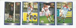 Carte De Collection , Official FOOTBALL Cards 1995 , PANINI , Lille  N° 74/77/76/71 , LOT DE 4 , Frais Fr : 1.50€ - Autres Jeux De Cartes