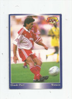 Carte De Collection , Official FOOTBALL Cards 1995 , PANINI , Monaco  N° 122 - Other Playing Cards