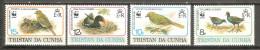 Serie Nº 491/4 Tristan Da Cunha. - W.W.F.