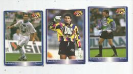 Carte De Collection , Official FOOTBALL Cards 1995 , PANINI , Auxerre  N° 14/17/177 , LOT DE 3 , Frais Fr : 1.50€ - Autres Jeux De Cartes